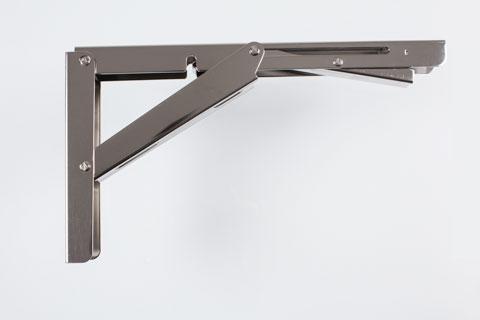 Escuadras verticaleshorizontales y bandejas abatibles de Acero