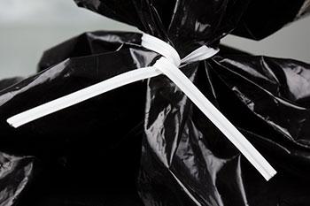 alambre plastificado para cerrar bolsas