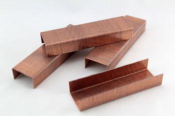 Materiales de embalaje: Grapas para cerrar cajas de cartón