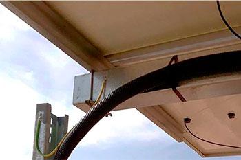 Tubo Corrugado resistente UV para instalaciones solares