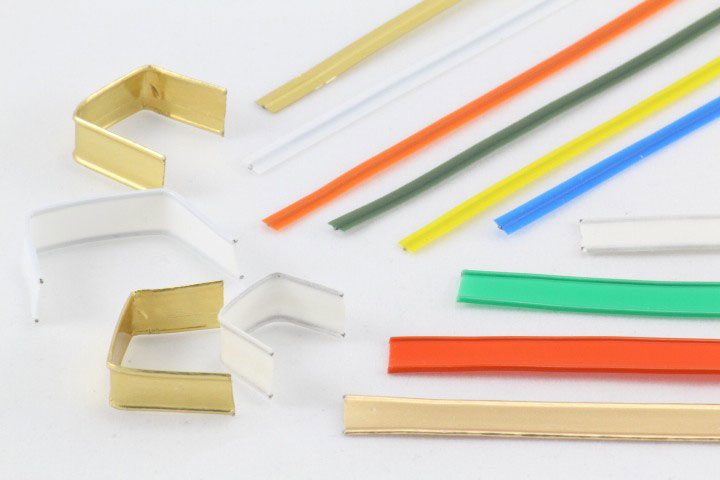 Cierres para bolsas alambre plastificado twistband - Bolsas de plastico con cierre ...