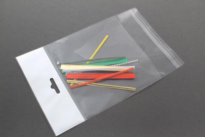 Bolsa con cierre por solapa adhesiva y eurotaladro - Bolsas de plastico con cierre ...